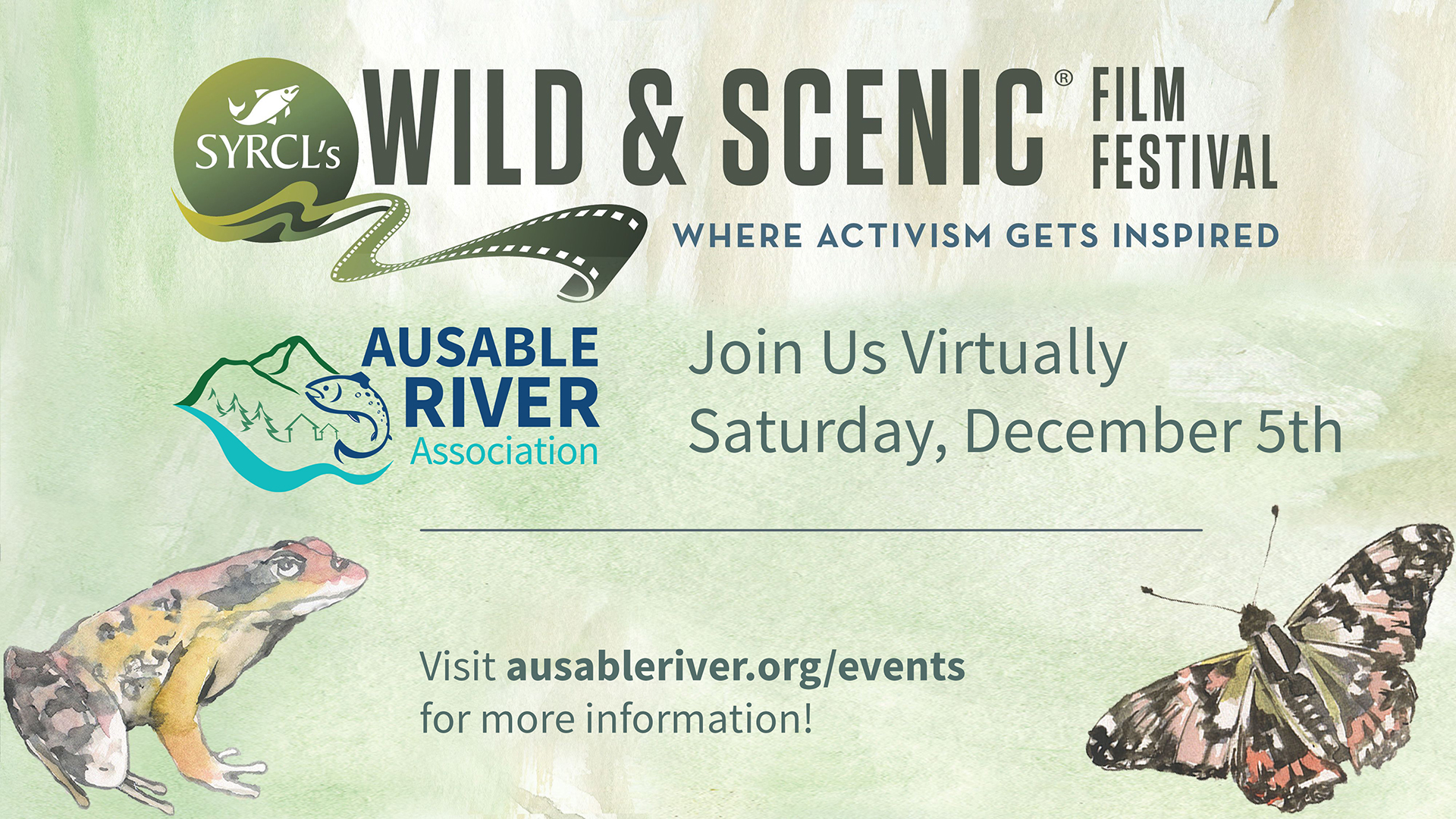 Ausable River Association Presents SYRCL's Wild & Scenic Film Festival On Tour