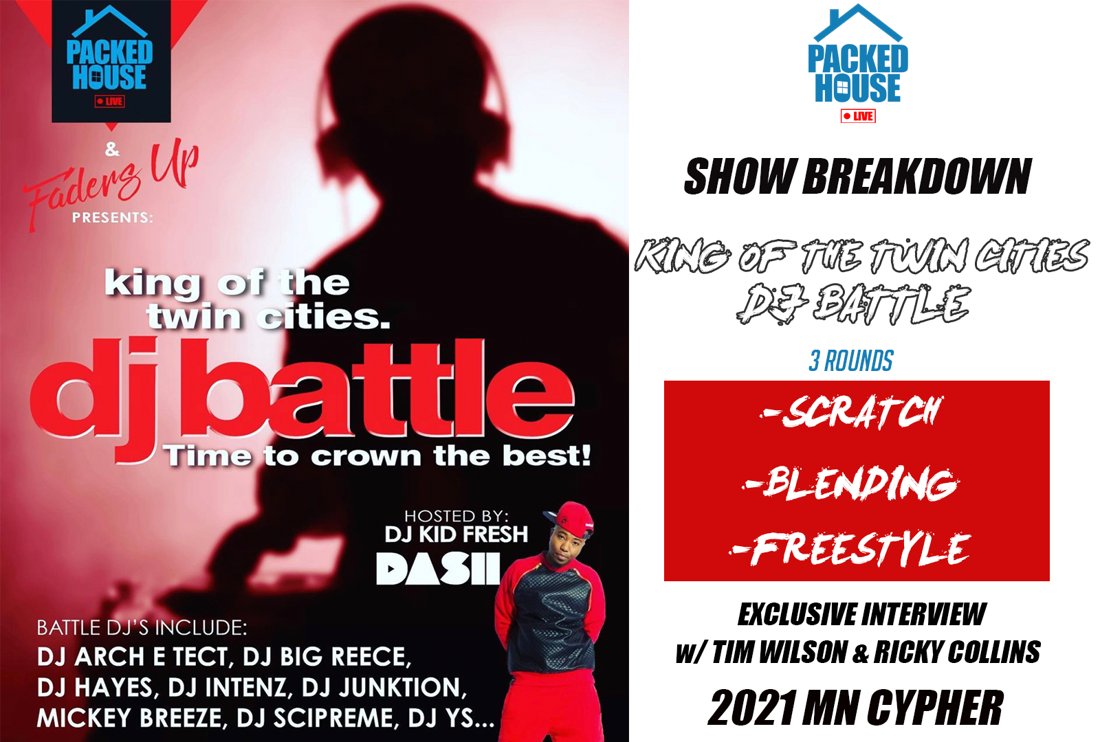 """The King Of The Twin Cities"" DJ Battle"