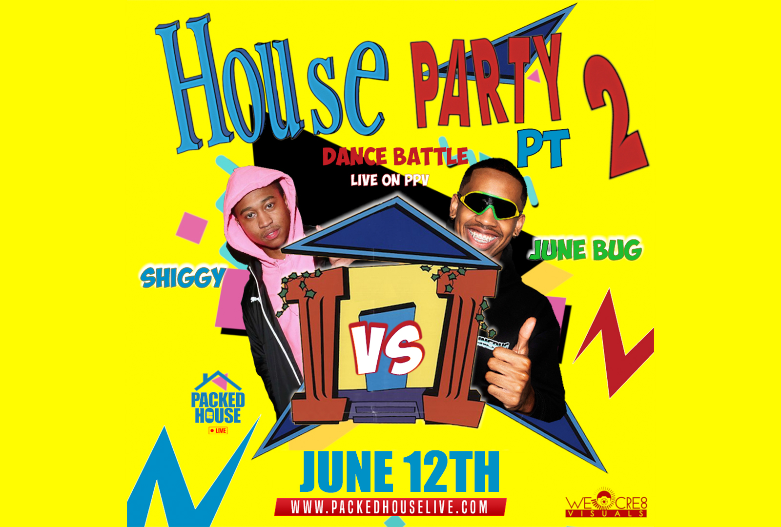 SHIGGY vs. JUNEBUG - House Party Dance Battle