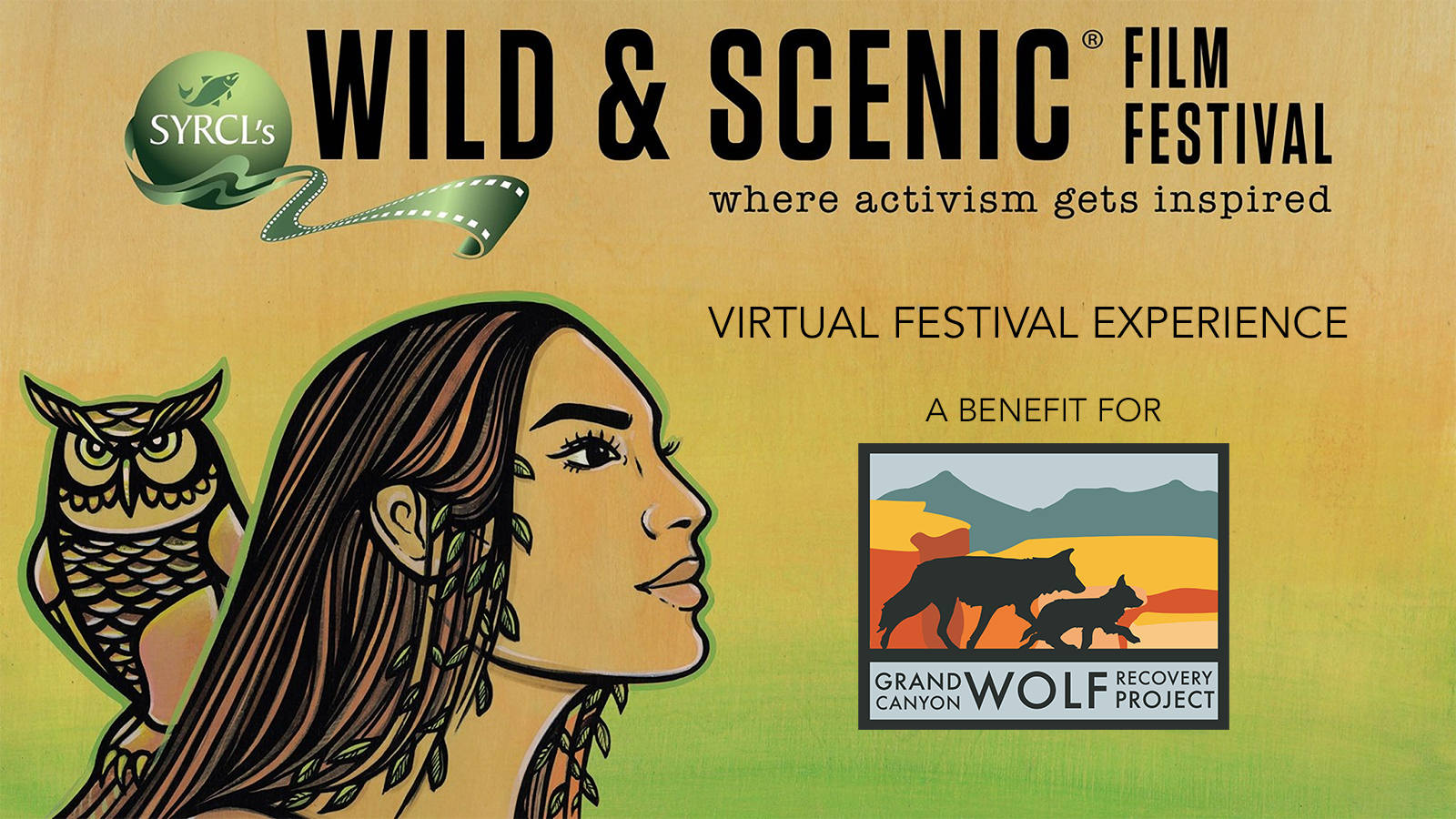 Grand Canyon Wolf Recovery Project Presents SYRCL's Wild & Scenic Film Festival On Tour