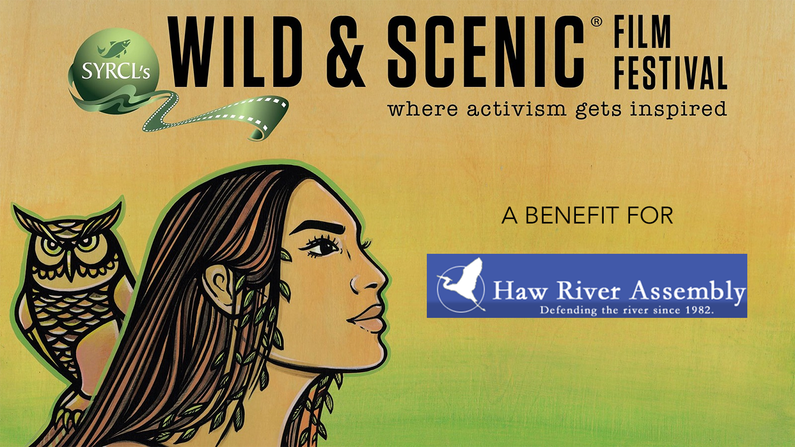 Chapel Hill Haw River Assembly Present SYRCL's Wild & Scenic Film Festival Live Event