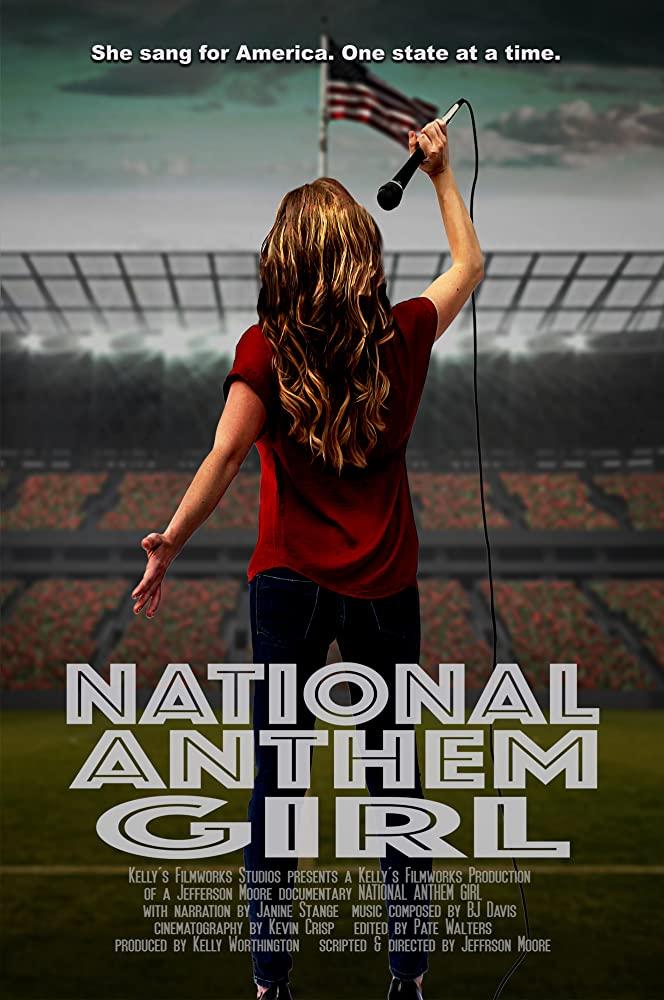 National Anthem Girl (East Coast)