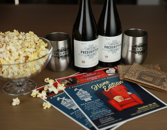 Now On-Demand - San Jose International Short Film Festival - Prescription Vineyards Wine Event