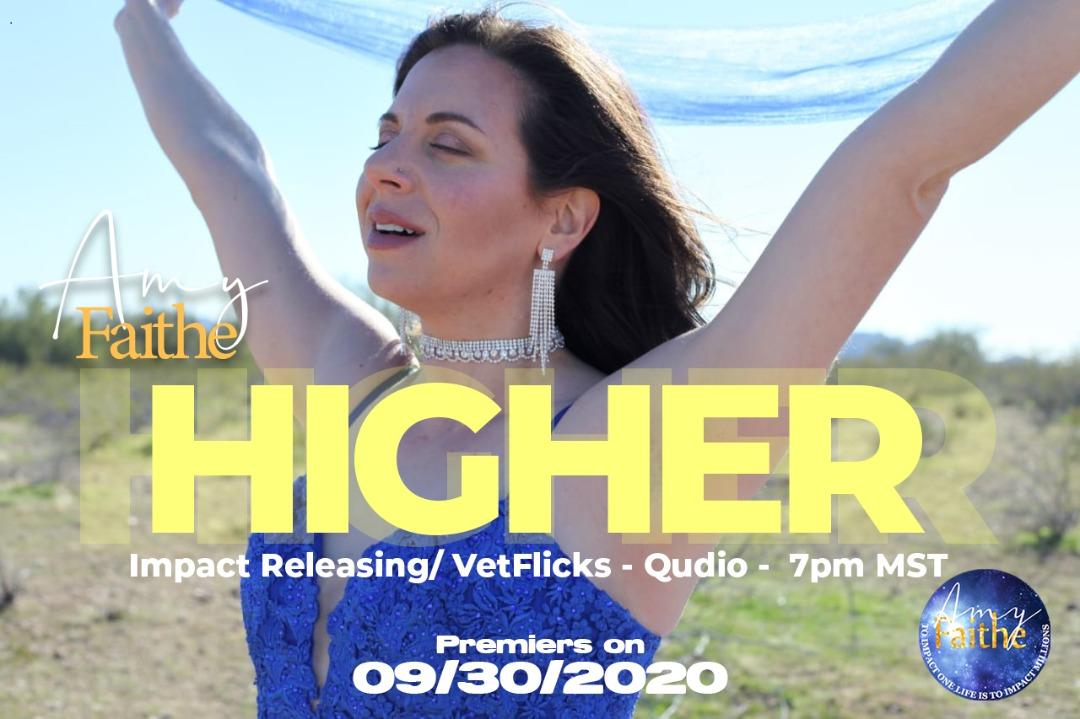 "Amy Faithe ""Higher"" Music Video Premiere"