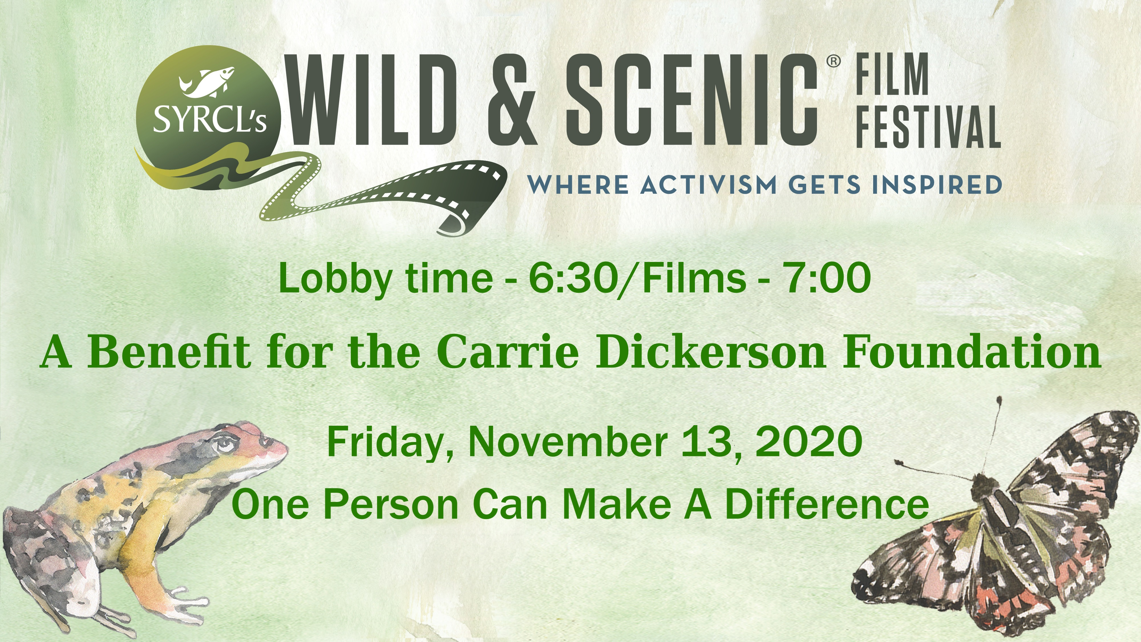 Carrie Dickerson Foundation Presents SYRCL's Wild & Scenic Film Festival On Tour